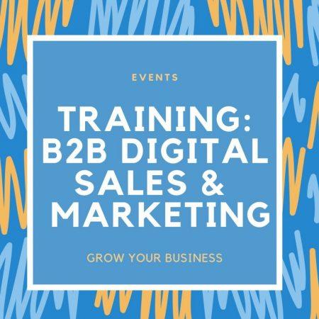 Training B2B Digital Sales and Marketing